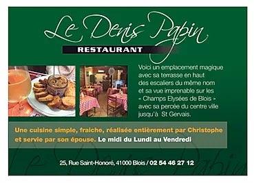 Le Denis Papin Blois